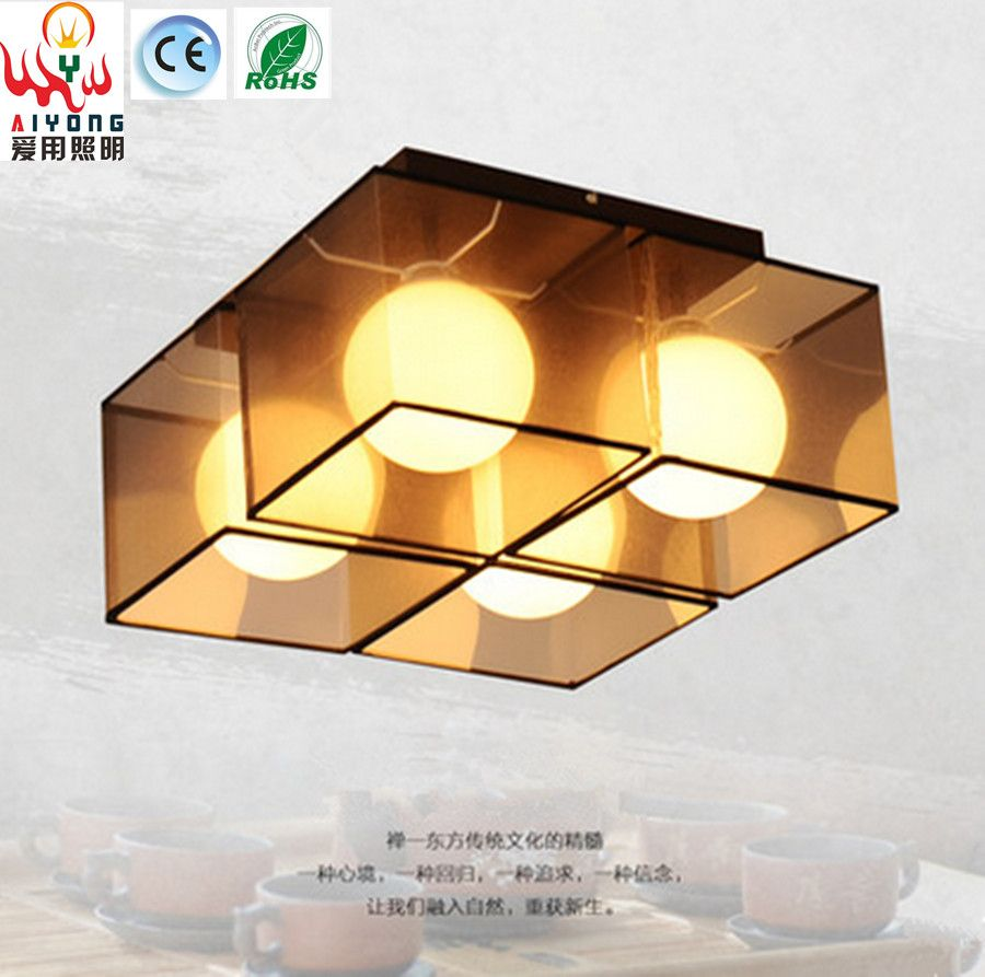 chinese style lighting. New Chinese Style Ceiling Light LED Simple Modern Round Living Room Lamp Warm Bedroom Study Lighting P