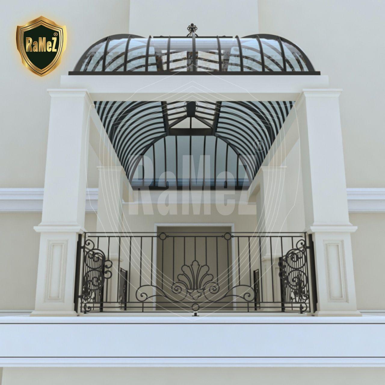 Ferforje Balkon Korkulugu Wrought Iron Balcony Banisters In 2020 Iron Balcony Wrought Iron Railing Wrought Iron Doors