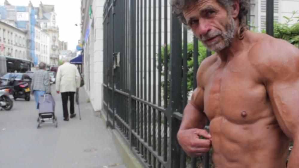 Meet The Homeless Bodybuilder Who Gets Ripped On The