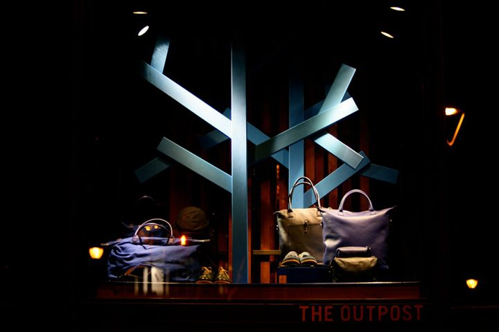 THE OUTPOST windows 2013 February, Barcelona – Spain