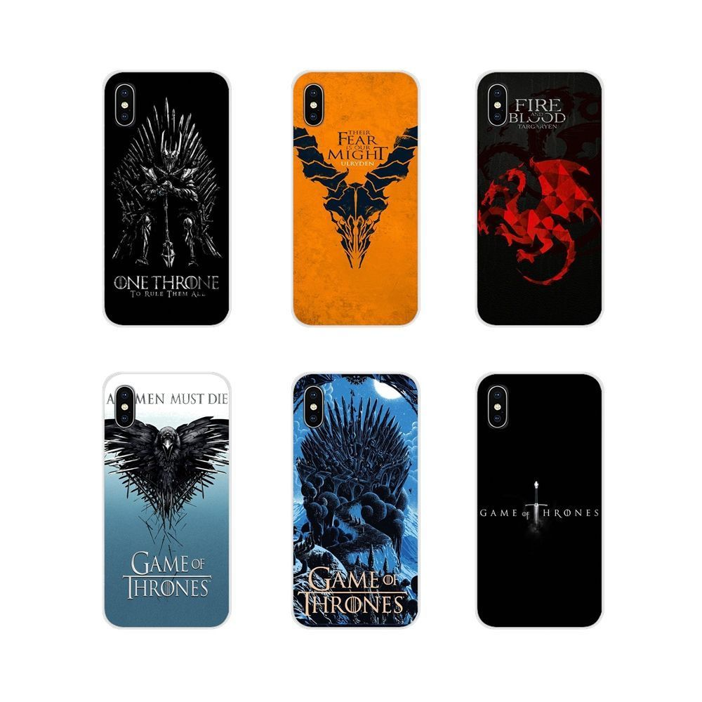Handy Haut Fall Games of Thrones GOT TV Show für Samsung Galaxy S3 S4 S5 Mini S7 S6 S8 S9 S10 Lite