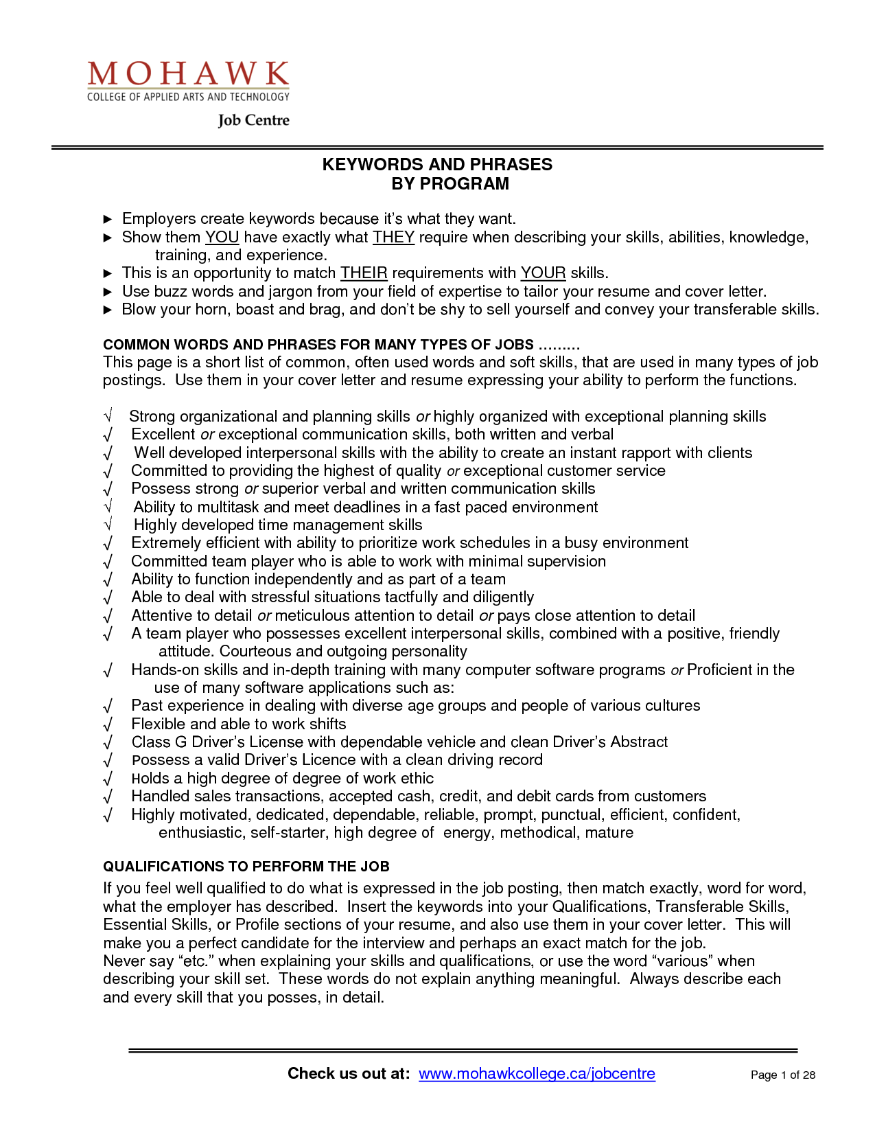 transferable skills resume | transferable skills resume sample ...