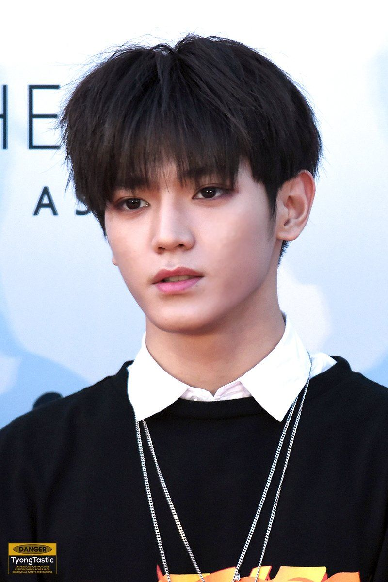 I love all of Taeyong's hair color, especially black | Nct ...