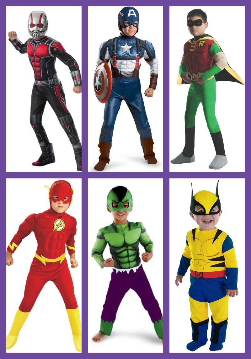 Boy Superhero Costumes for Halloween