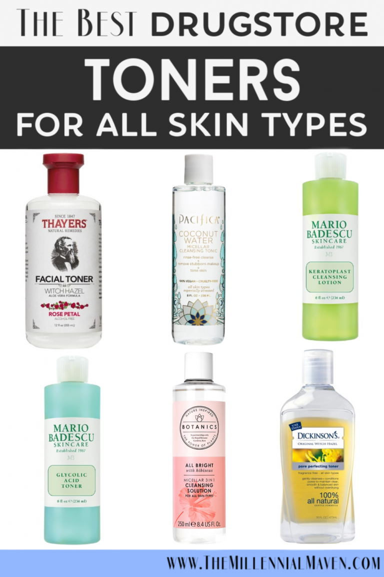 Updated 2019 The Best Drugstore Toners For All Skin Types Affordable Drugstore Skincare The Millennial Maven Best Drugstore Toner Drugstore Skincare Skin Care