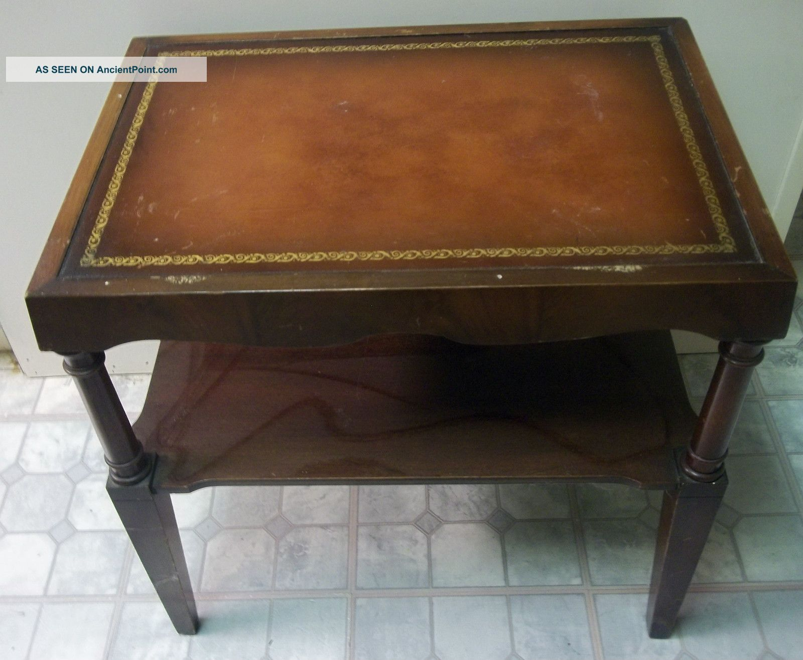 mahogany side tables living room best behr paint colors leather top table doezema fine furniture unknown photo