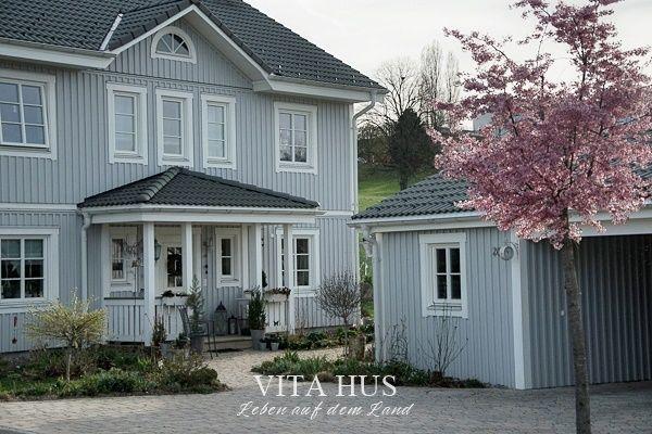 Popular Skandinavisches Wohnen wohnen in weiss shabby chic Schwedenhaus Green Gate Cottage