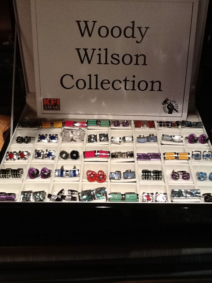 Woody Wilson of Beverly Hills Cufflinks!
