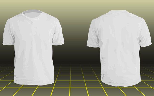 Photoshop Men\'s basic t-shirt template - #BlankTShirt, #Men ...