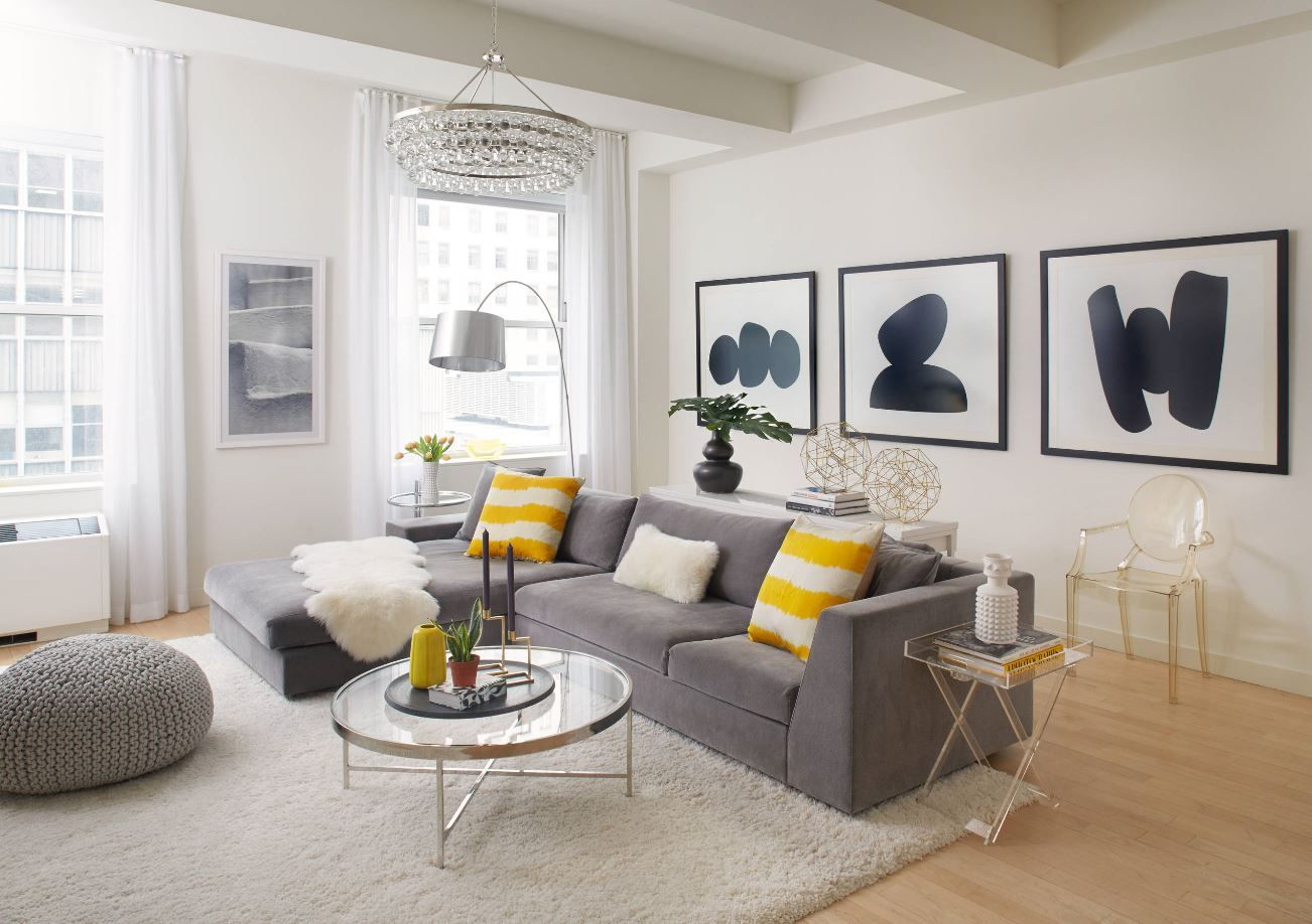 7 Best Winter 2019 Interior Design Trends To Try In Your Home Decorilla Online Interior Design Yellow Decor Living Room Grey And Yellow Living Room Yellow Home Decor