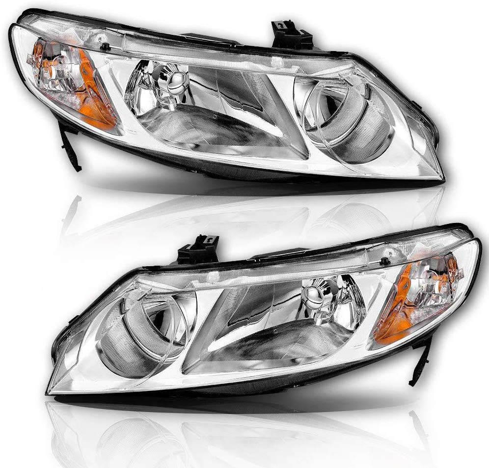 Fitment perfect headlight replacement for 2006 2007 2008