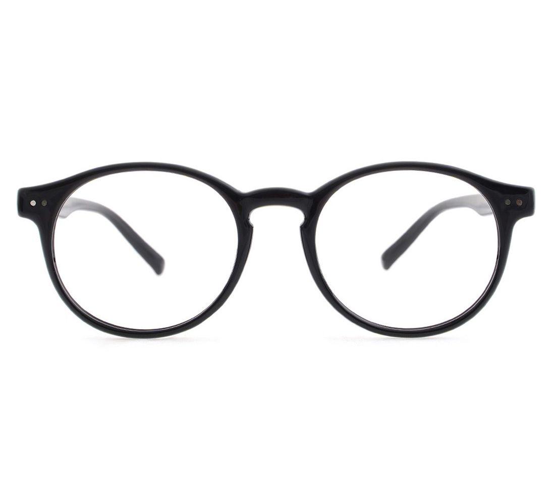 b529befbd Korean fashion eyewear for men and women. Classic retro oval clear lens  eyeglasses. Stylish plastic frames are great flexibility, no broken, light  weight.