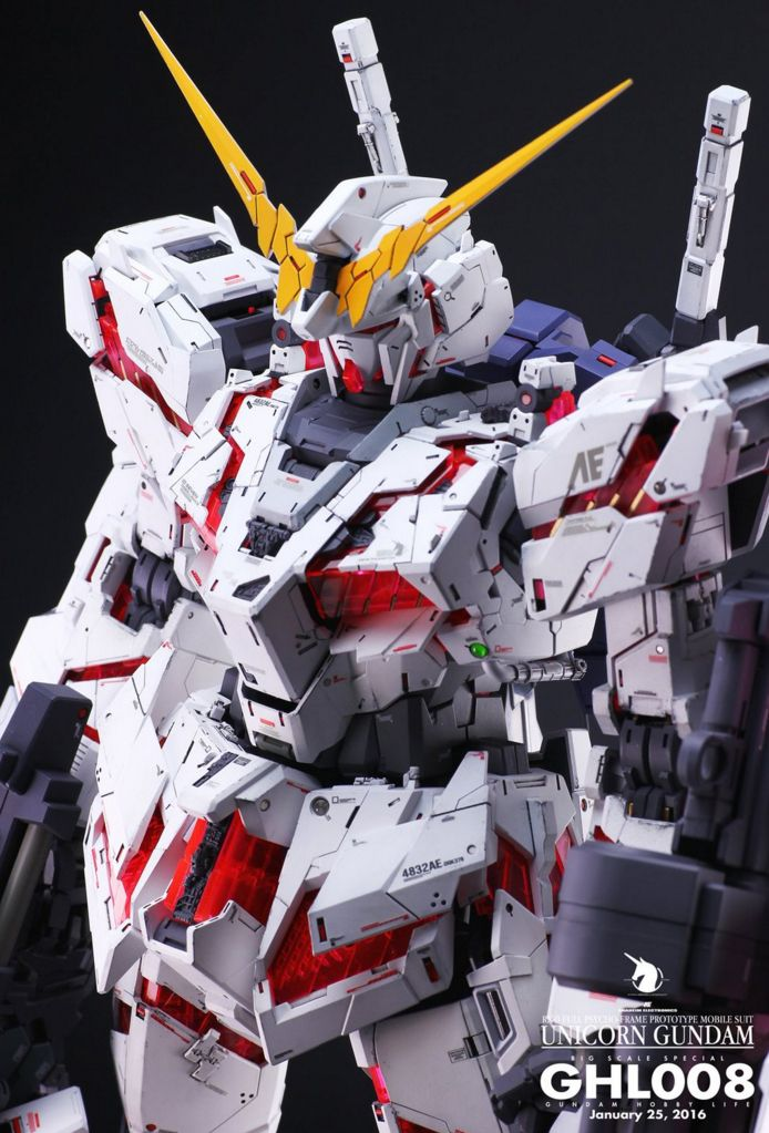 new concept 4e795 bd658 GUNDAM GUY: PG 1/60 Unicorn Gundam - Customized Build ...