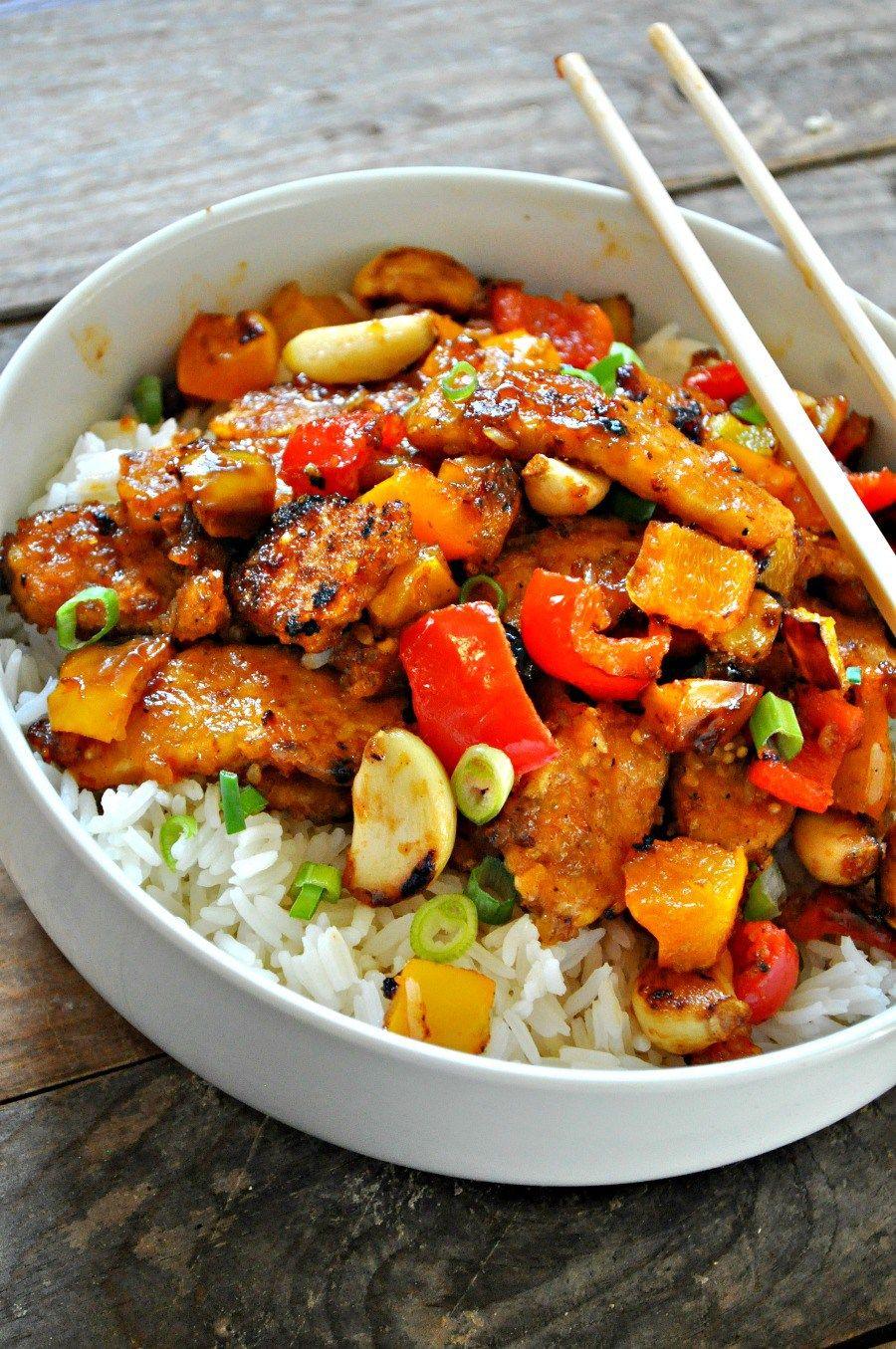 Vegan Beijing Tempeh Recipe Low calorie vegan, No