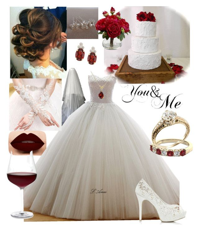 """Mrs.Hernandez"" by hmiranda1221 ❤ liked on Polyvore featuring LASplash, Nearly Natural, Allurez, Forever New and Schott Zwiesel"
