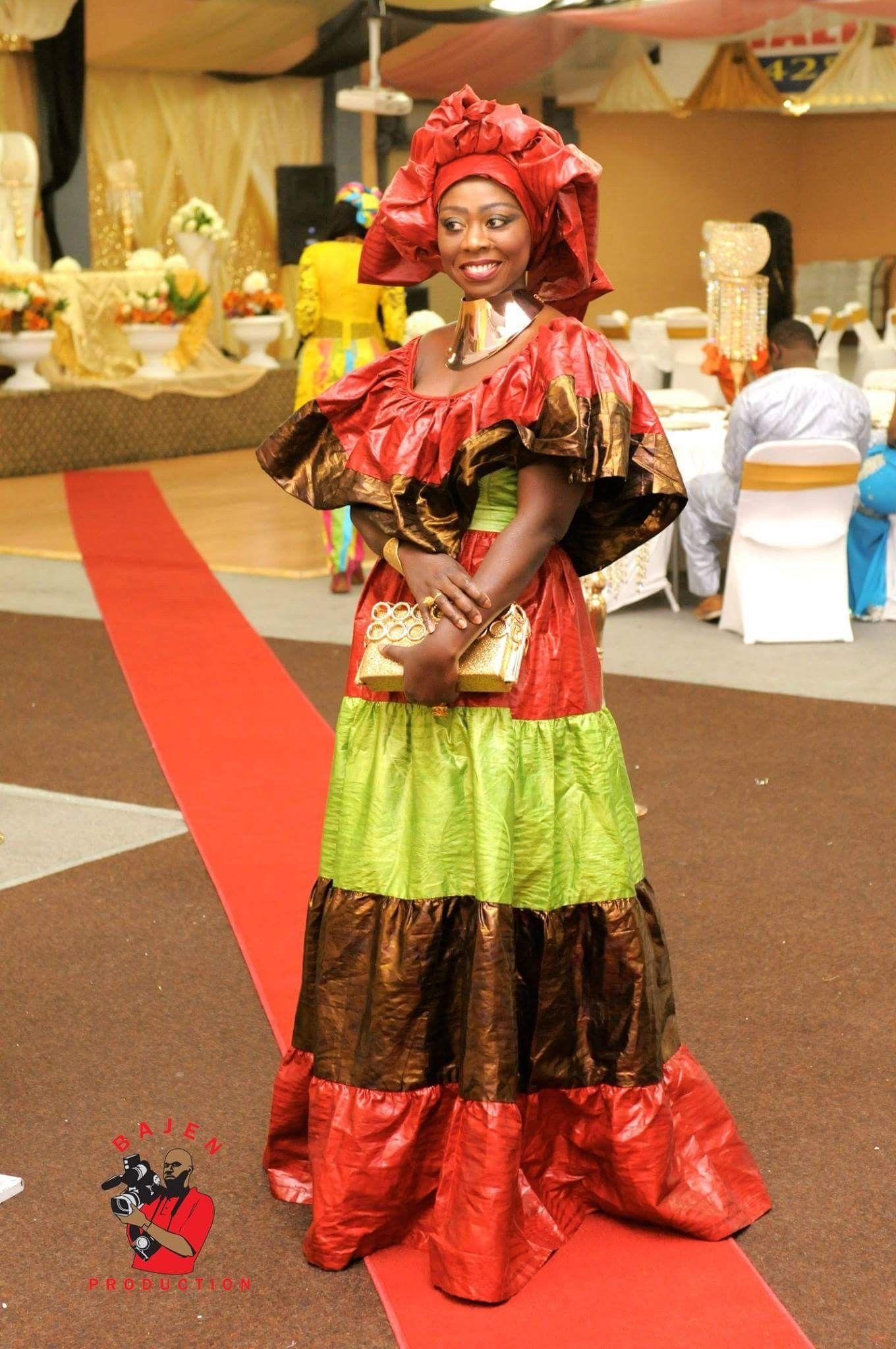 Image Mode africaine robe longue de Mowa du tableau Tenue africaine | Modèles de vêtements ...