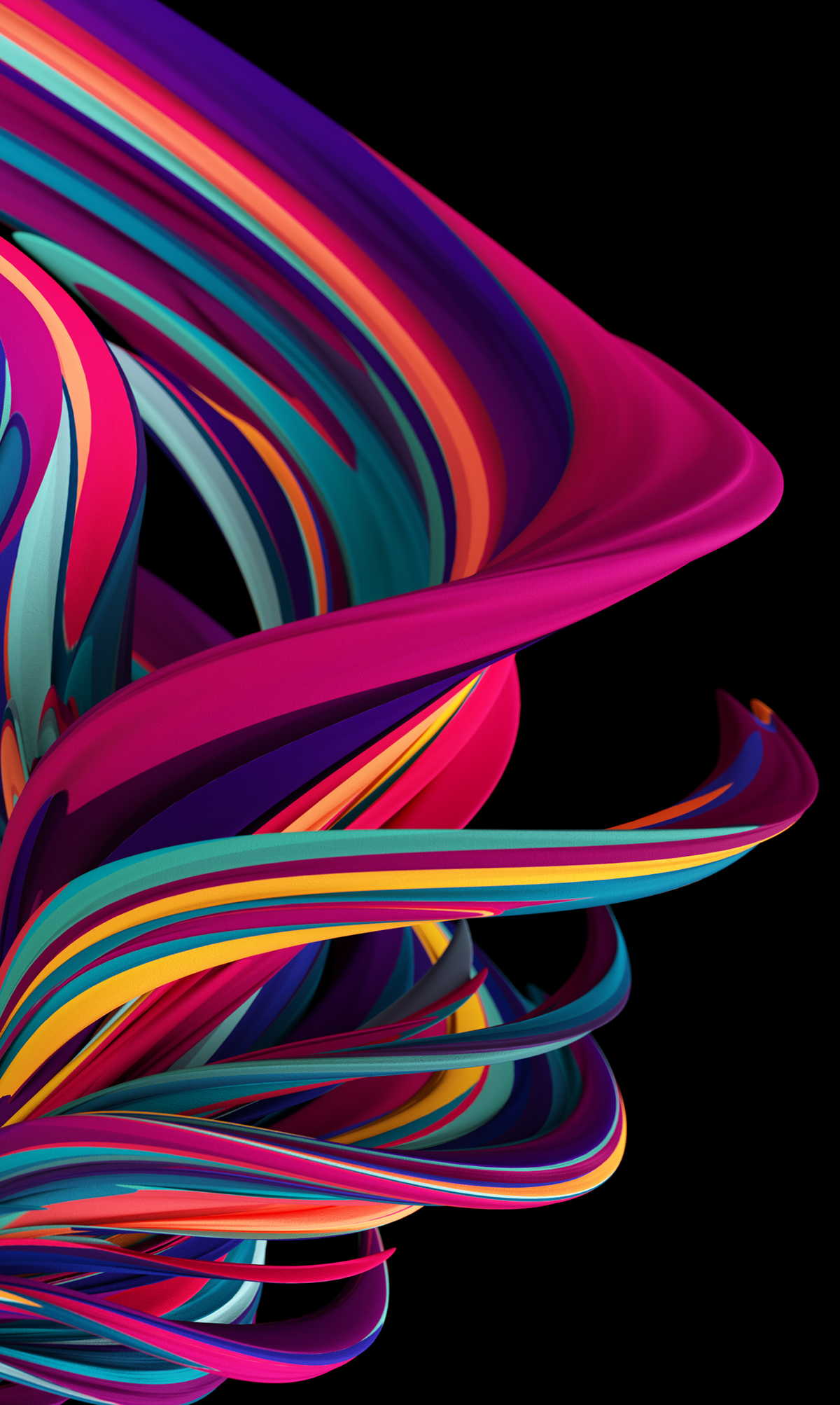 Danny Ivan 3d Imagery Maker Curved Lines Series 1 0 Abstract Iphone Wallpaper Cool Backgrounds Wallpapers Huawei Wallpapers