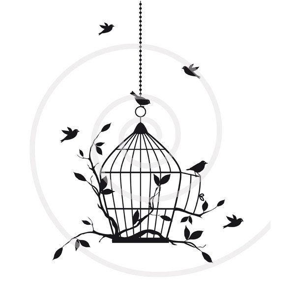 birds with open birdcage digital clip art clipart housewarming rh pinterest com housewarming clipart black and white housewarming clipart free