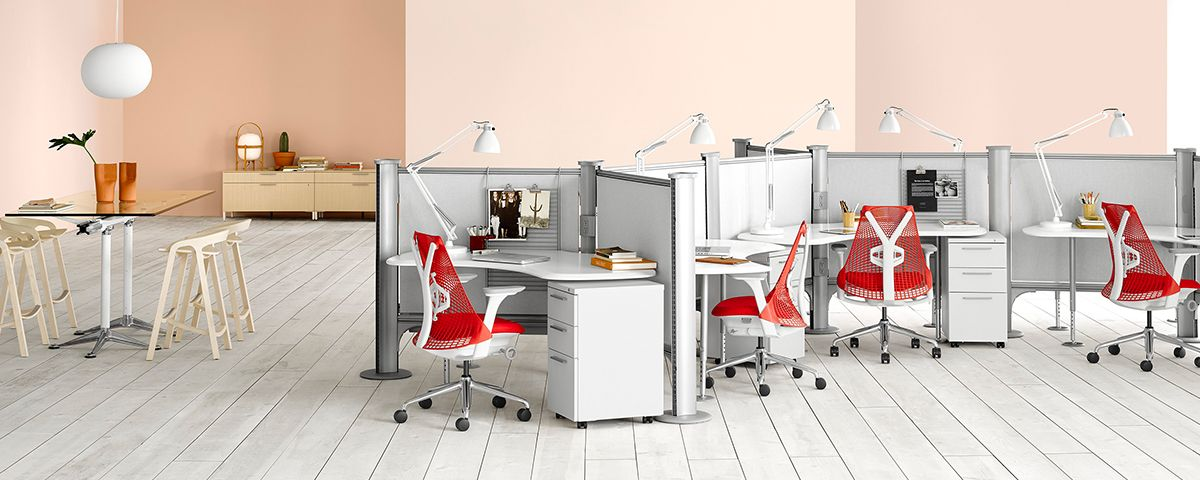 Incroyable Healthcare Surface | Herman Miller | Resolve Office Furniture System:  Screen Separated System, Material