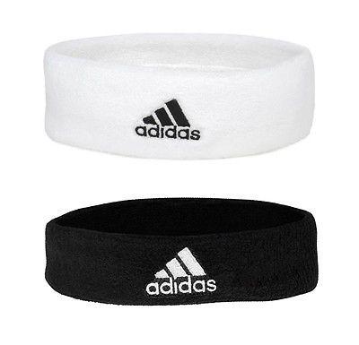 Vibrar En contra resistencia  NEW ADIDAS SPORTS HEADBANDS SWEATBANDS FOR  TENNIS,SQUASH,BADMINTON,GYM,RUNNING | Other Equipment & Accessories |  Equipm… | Sports headbands, Adidas sport, Sweatband