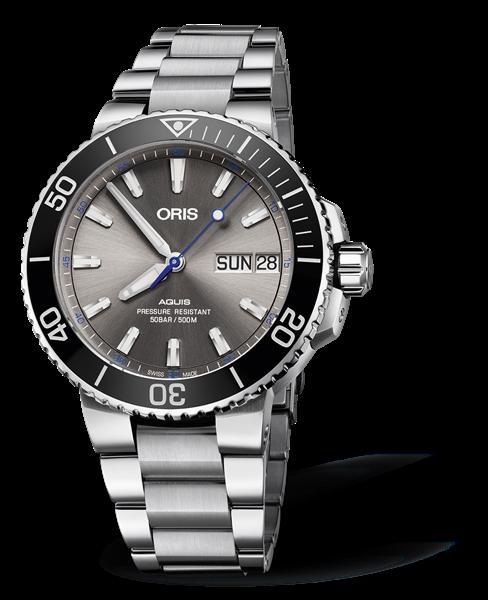 a3b2decb3306d 01 752 7733 4183-Set MB - Oris Hammerhead Limited Edition - Oris Aquis -  Diving - Collection - Oris - Purely mechanical Swiss watches.