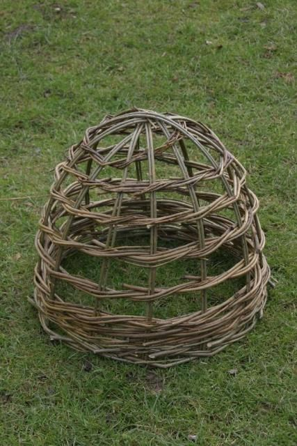 Basket Weaving Plants : Garden cloche for protecting your plants note i hate