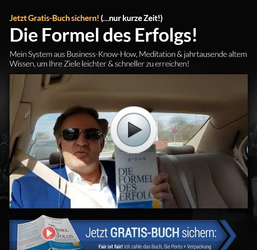 """""""Die Formel des Erfolgs"""" Jetzt GratisBuch sichern! (mit"""