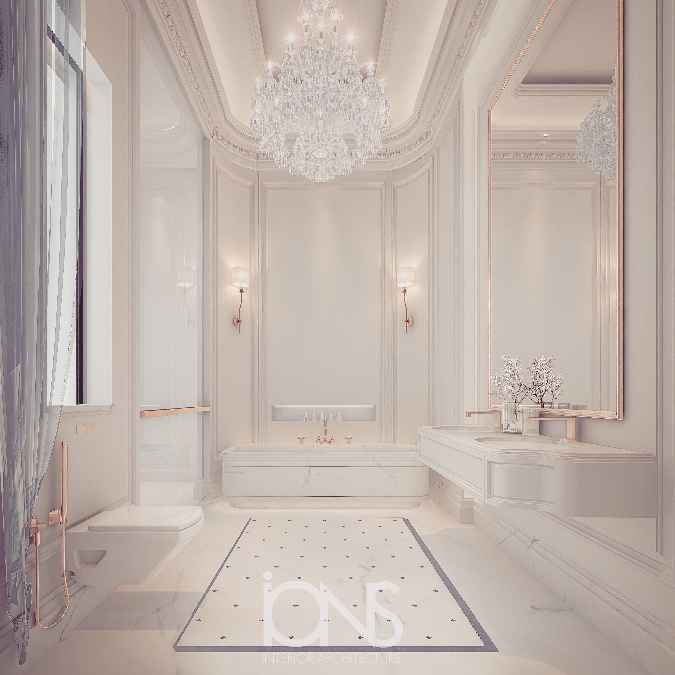 Luxury Bathroom Design  IONS  Luxury Interior Design Dubai