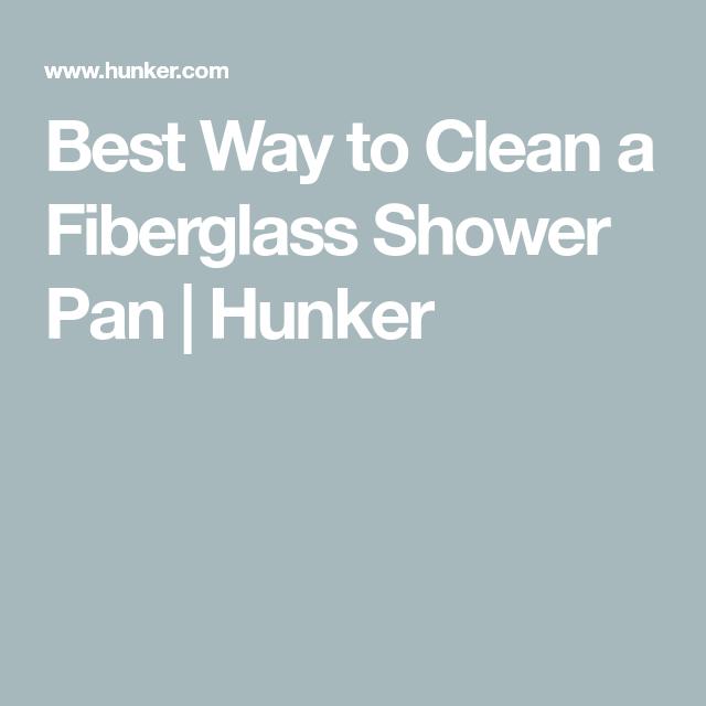 Best Way To Clean A Fiberglass Shower Pan Fiberglass Shower Pan