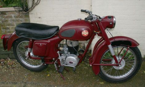 Page 192  1956 Panther Model 10/3 Villiers 197cc  SOLD