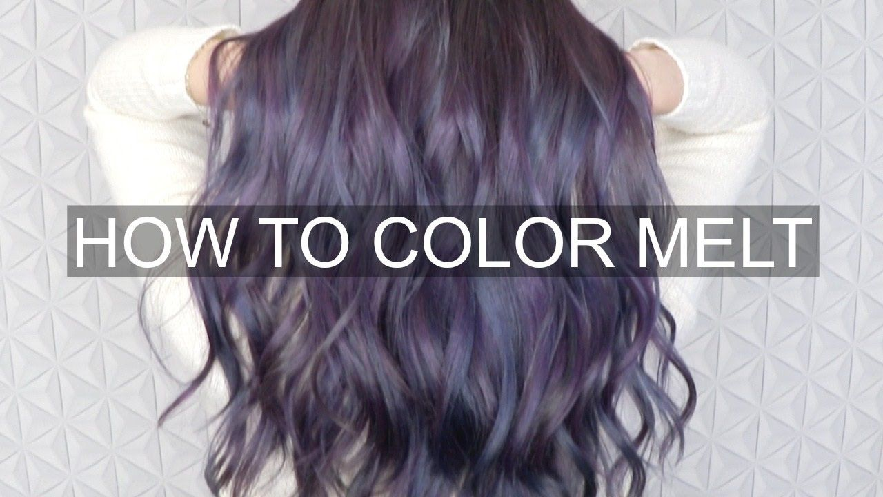 Melted Hair Color Technique - Best Color to Dye Gray Hair Check more at http://www.fitnursetaylor.com/melted-hair-color-technique/