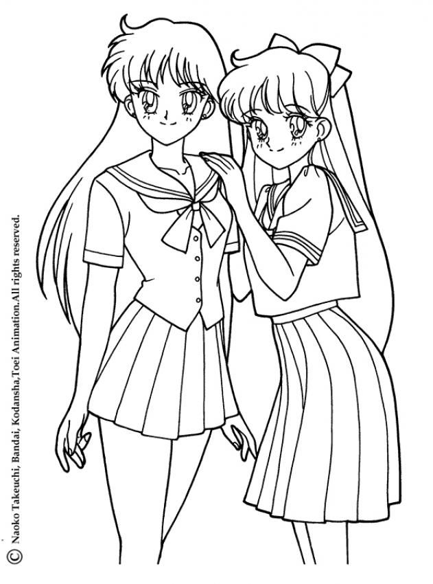 Sailor Moon Coloring Pages Sailor Neptune And Sailor Uranus Moon Coloring Pages Sailor Moon Coloring Pages Manga Coloring Book