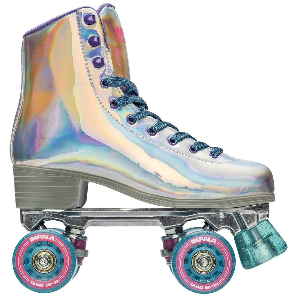 Impala Holographic Skates Best Roller Skates Speed Laces Roller Skates