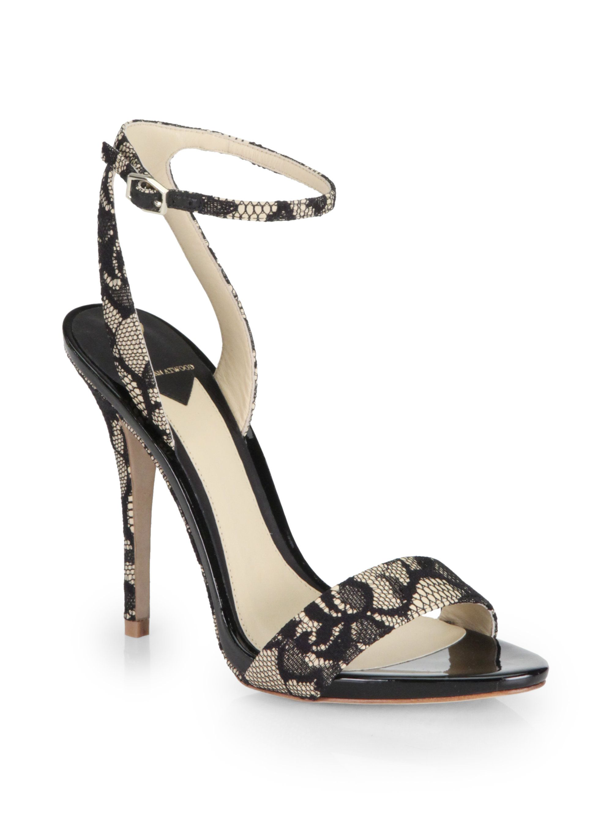 B Brian Atwood Peep-Toe Ankle Strap Pumps for sale finishline V1NEc
