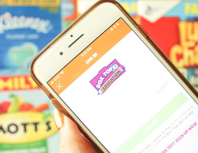 The New Box Tops App (With images) Educational apps, Box