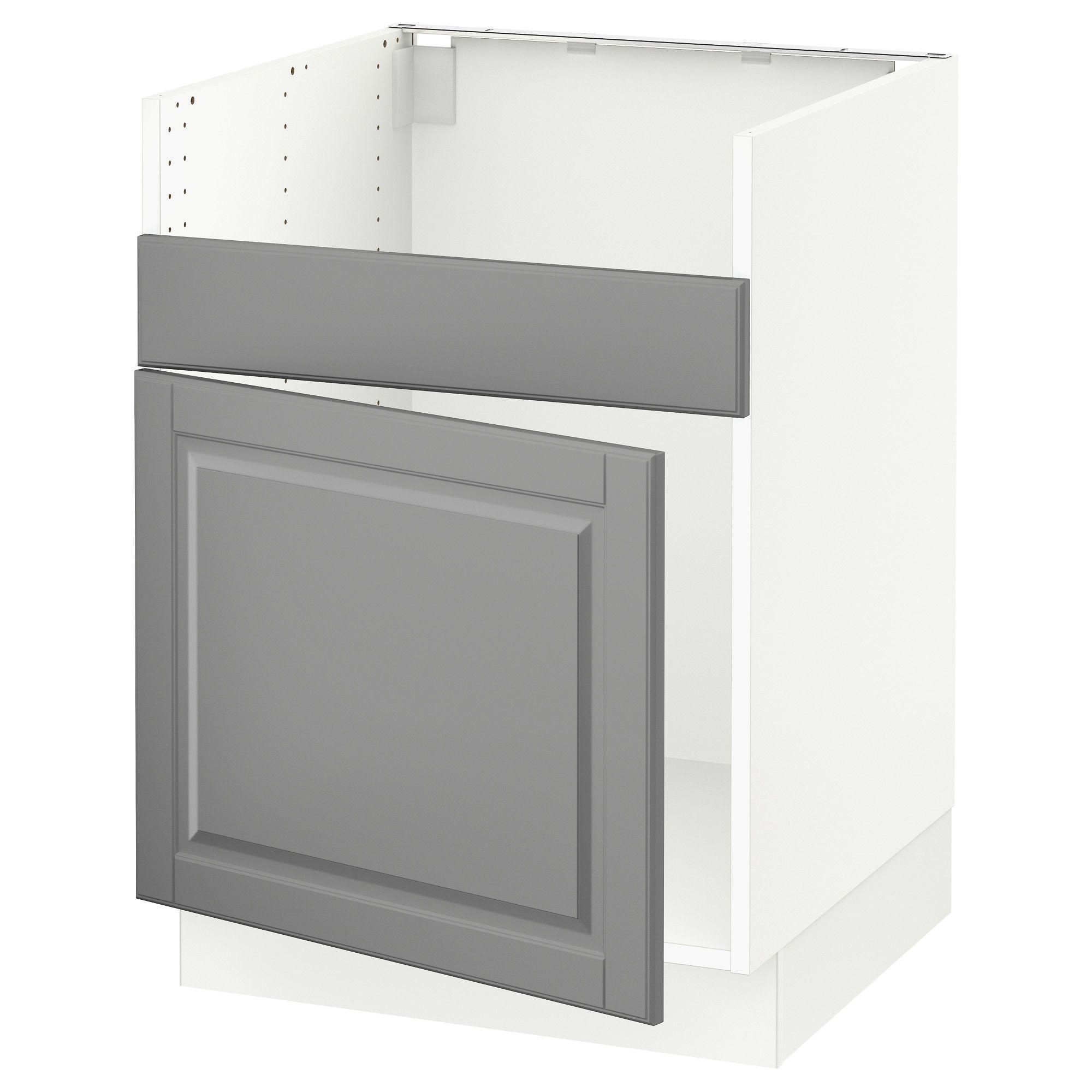 Ikea Sektion White Base Cabinet For Havsen Sink Frame Colour