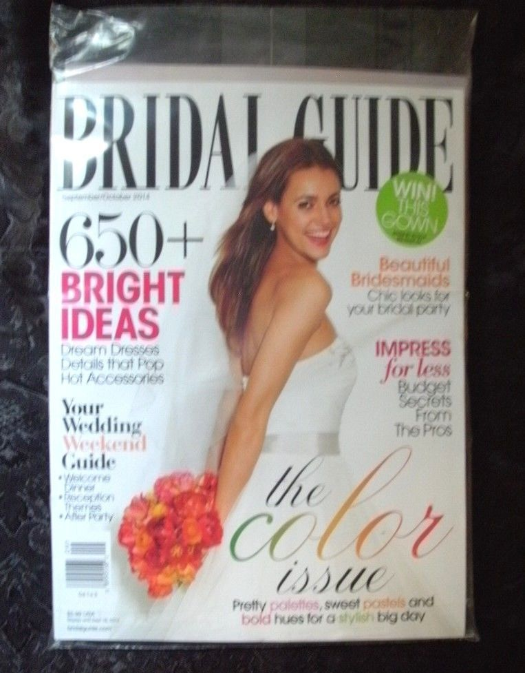Bridal Guide Magazine SEPTEMBER/OCTOBER 2014 + HONEYMOON WEDDING GUIDE