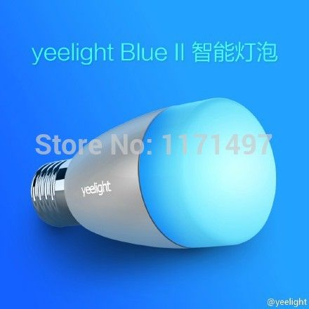 Buletooth 4.0 Smart BLE White And RGB LED Bulb Lighting Color Changable  With Music Or Photo