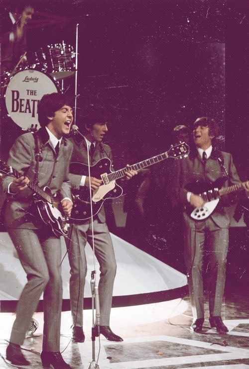 The Beatles On Stage Look At Paul I Love You Call Me