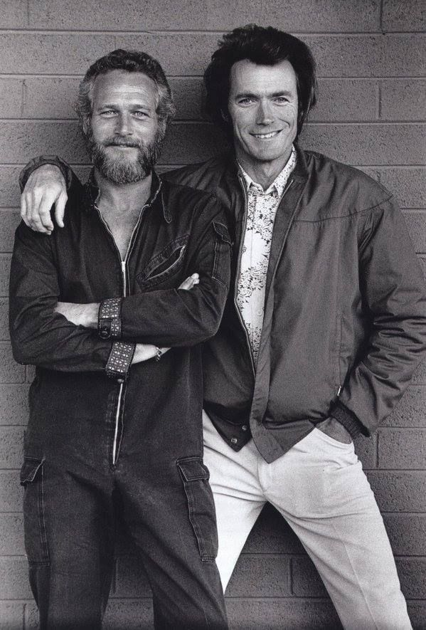 [blogger tips] RT : Clint Eastwood and Paul Newman 1972 https://t.co/vzhWDKqKIe