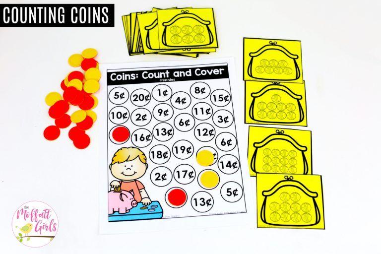 Kindergarten Math Money Educação