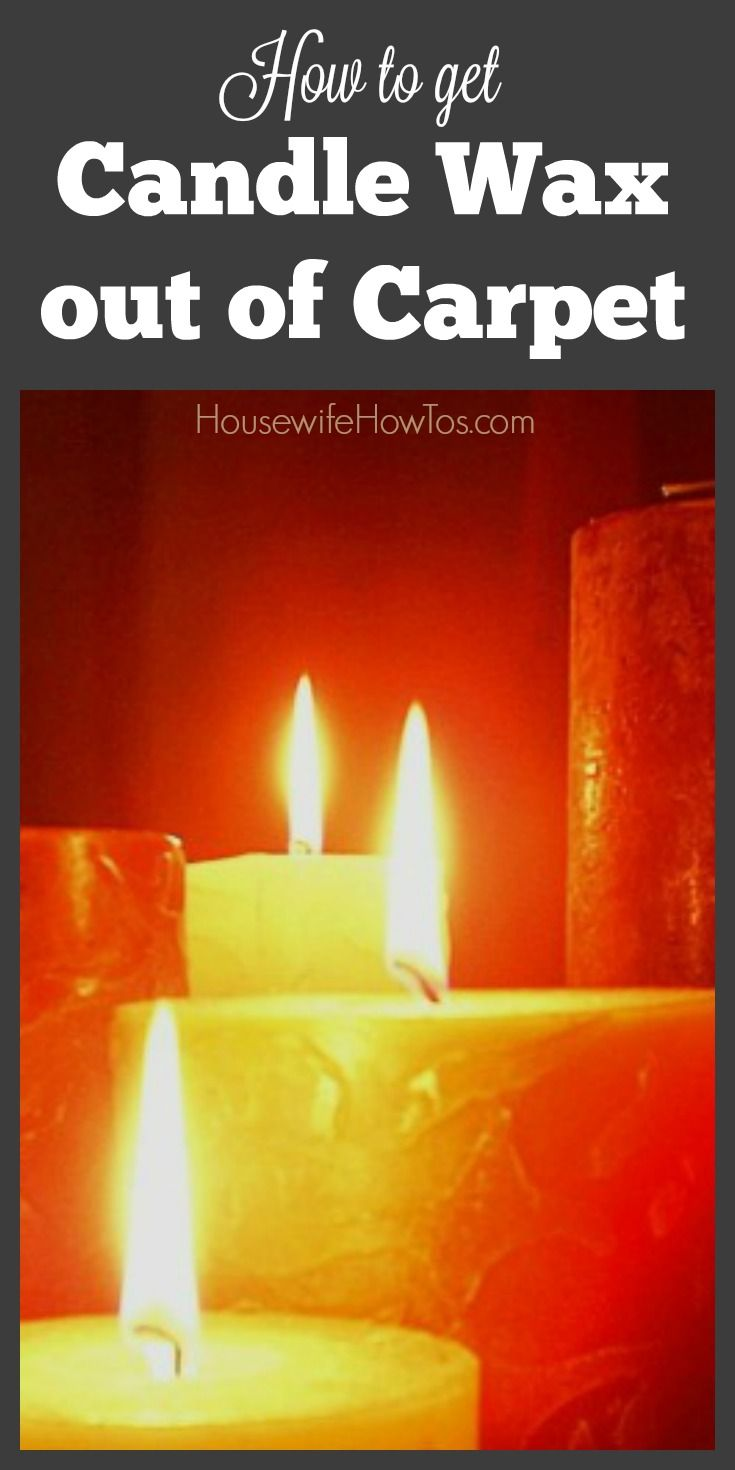How To Get Candle Wax Out Of Carpeting How To Clean Carpet Carpet Cleaning Hacks Cleaning Hacks
