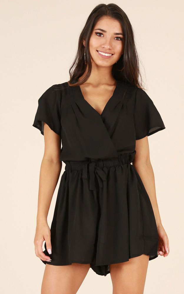 b9bf1f06c893 Showpo Between Us Playsuit in black - 14 (XL) Rompers & Jumpsuits ...