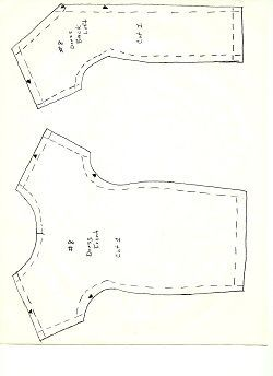 Influential image with regard to free printable barbie clothes sewing patterns
