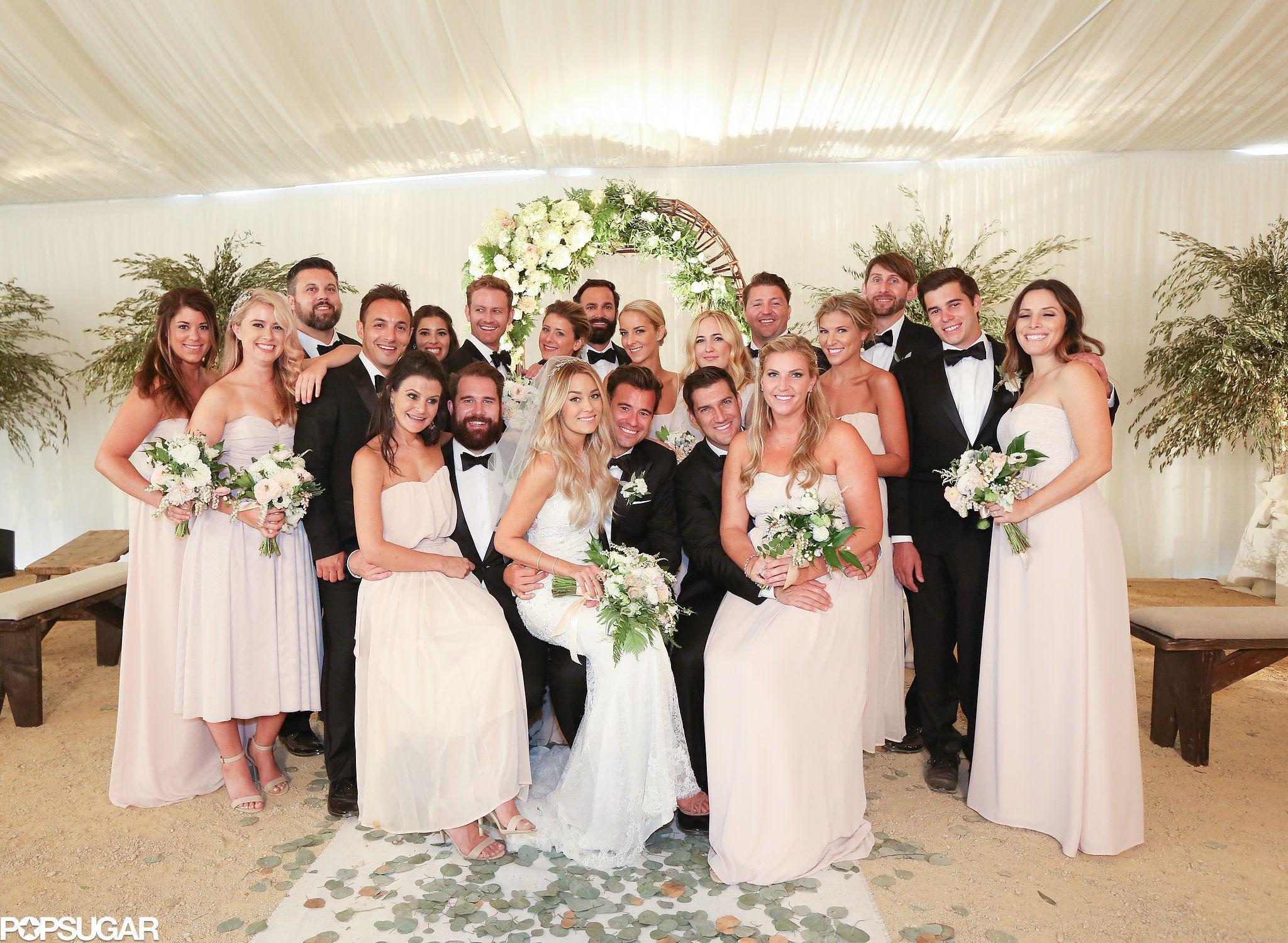 Look Back On 15 Gorgeous Lauren Conrad Wedding Pictures Lauren Conrad Wedding Wedding Bridesmaids Wedding Photo Inspiration