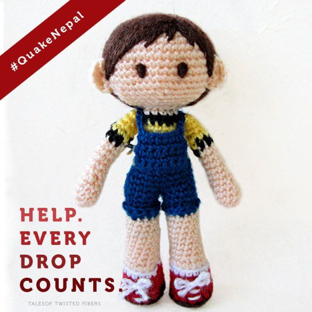 PATTERN - Tobias the Amigurumi Boy Doll (crochet, amigurumi) - in ... | 620x620