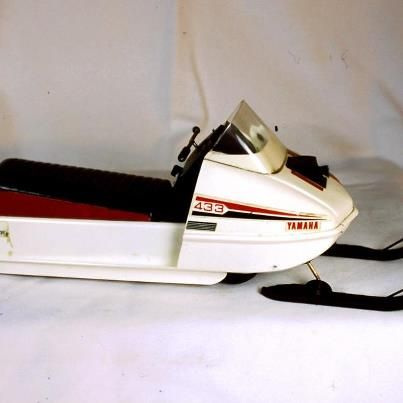 433 Yamaha  Loved the 70's when we had our snowmobiles and