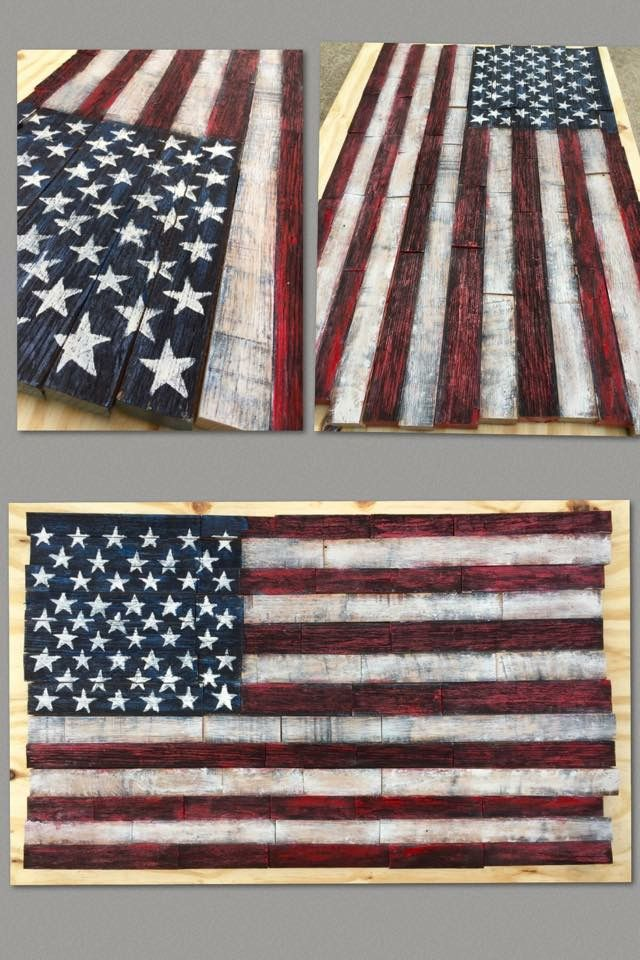 American Flag Wall Hanging custom wooden american flag wall hanging made from reclaimed oak