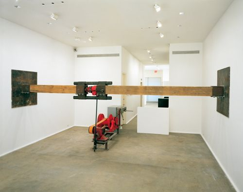 Chris Burden, Samson. Arte destruyendo la arquitectura
