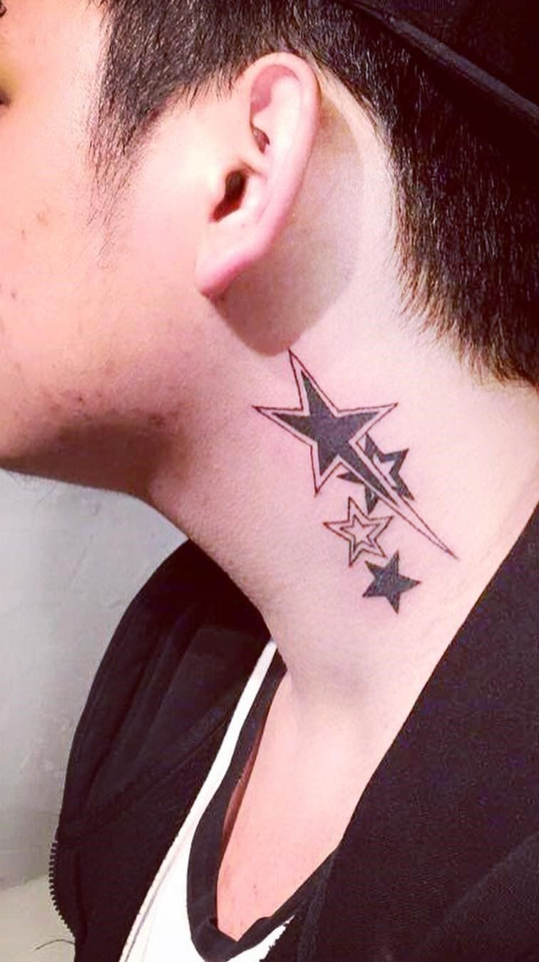 новыйl красивые тату на шее для девушек мужские сзади значение